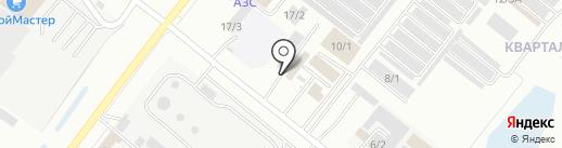 Ангар на карте Благовещенска