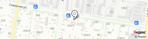 Терминал на карте Благовещенска