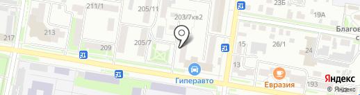 Lingerie на карте Благовещенска