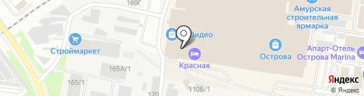 Mozart Art House на карте Благовещенска