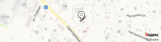 Акватория на карте Чигирей