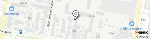 Автомастерская по шлифовке коленчатых валов на карте Благовещенска