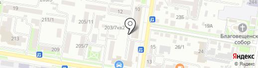 Аква-Имидж на карте Благовещенска