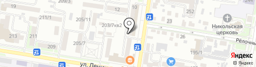 Гардероб на карте Благовещенска