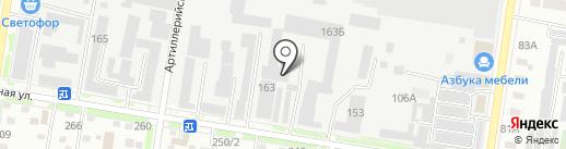 Автодизель на карте Благовещенска