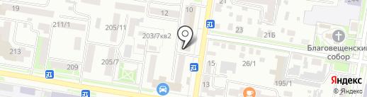 Boxberry на карте Благовещенска