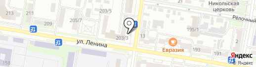 Lexus на карте Благовещенска
