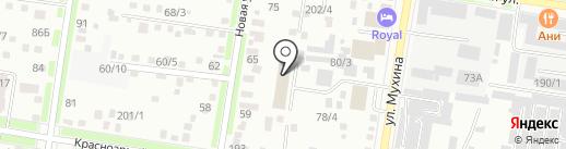 Автоматик на карте Благовещенска