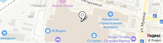 Рив Гош на карте Благовещенска