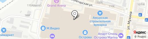 #Selfie на карте Благовещенска