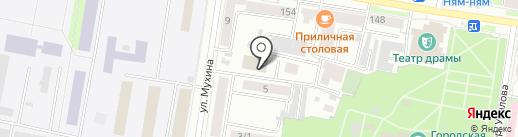 ДЮСШ №7 на карте Благовещенска