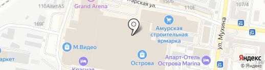 Киноатракцион на карте Благовещенска