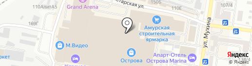 Wave RIDERS Store на карте Благовещенска