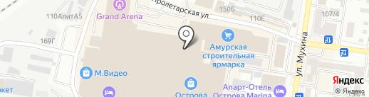 Askent на карте Благовещенска