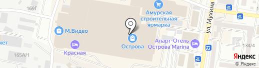 Компания по страхованию автомобилей на карте Благовещенска