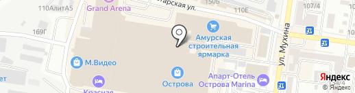 Домовид на карте Благовещенска