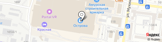 Fresh Line на карте Благовещенска