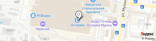 Русское золото на карте Благовещенска