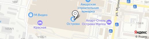 Quiksilver на карте Благовещенска