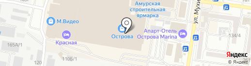 Oodji на карте Благовещенска