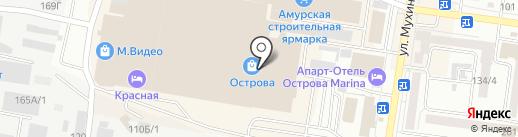 Forever на карте Благовещенска