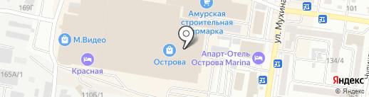 Альфарикко на карте Благовещенска