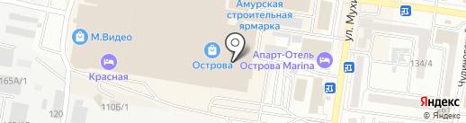 INGLOT на карте Благовещенска