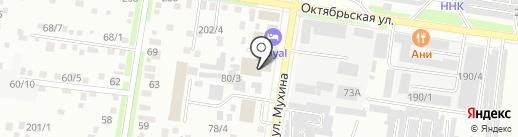 Учебный центр подготовки кадров, АНО на карте Благовещенска