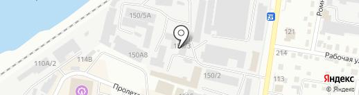 Гнейс на карте Благовещенска