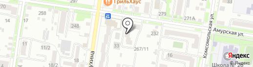 Амуртелеком на карте Благовещенска