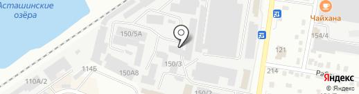 Авто-Stop на карте Благовещенска