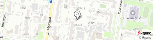 Чистовъ на карте Благовещенска