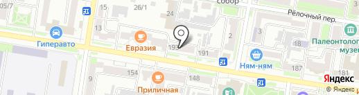 Авиатраст на карте Благовещенска