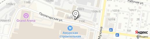 Винтаж Элит на карте Благовещенска
