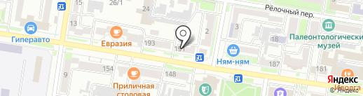 Арбитражный управляющий Гумиров Д.А. на карте Благовещенска