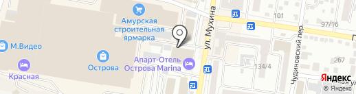 Катрин на карте Благовещенска