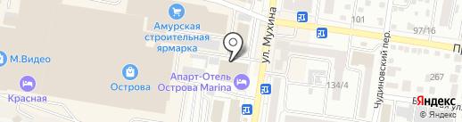 Замки+сейфы на карте Благовещенска