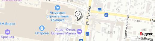 АВТОКАМ на карте Благовещенска