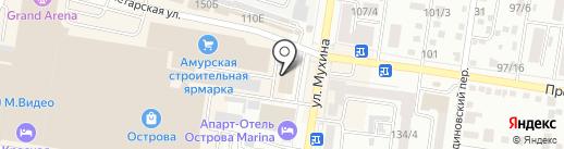Электролайт на карте Благовещенска