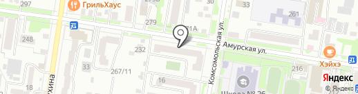 InstAlbom.ru на карте Благовещенска