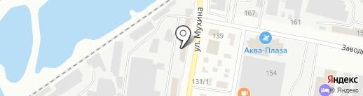Магазин №4 на карте Благовещенска