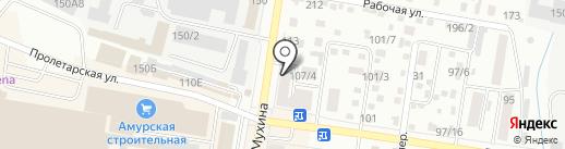СтройСнаб ДВ на карте Благовещенска