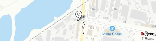 Магазин №11 на карте Благовещенска
