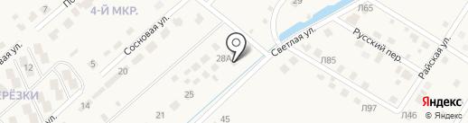 Абрис на карте Чигирей