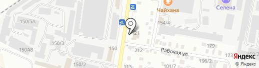Интер плюс на карте Благовещенска