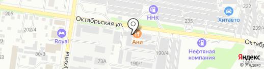 Городской сервисно-торговый комплекс на карте Благовещенска