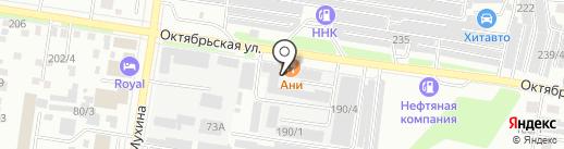 АНИ на карте Благовещенска