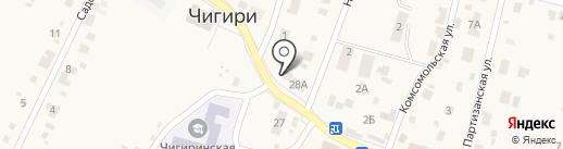 Ани на карте Чигирей