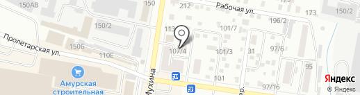 Kuliginy studio на карте Благовещенска