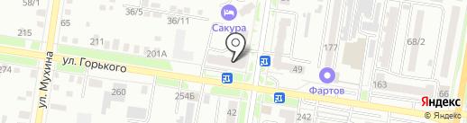 Амурстрой, ЗАО на карте Благовещенска